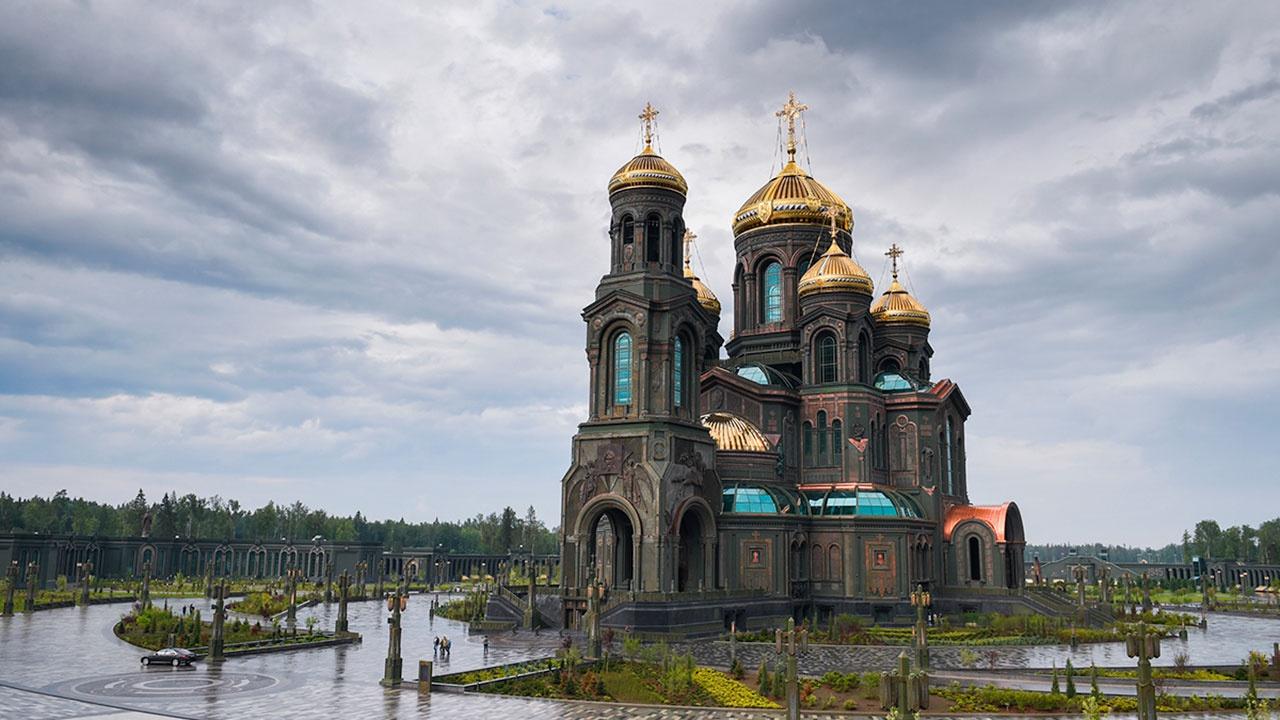 Торжественный молебен в ознаменование 76-й годовщины Победы в Великой Отечественной войне