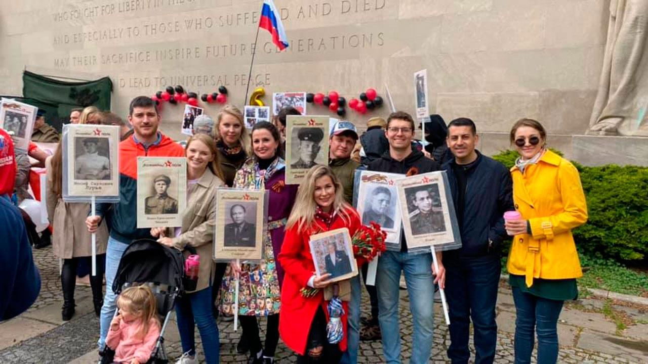 «Бессмертный полк»: в Нью-Йорке прошло праздничное шествие в честь Дня Победы