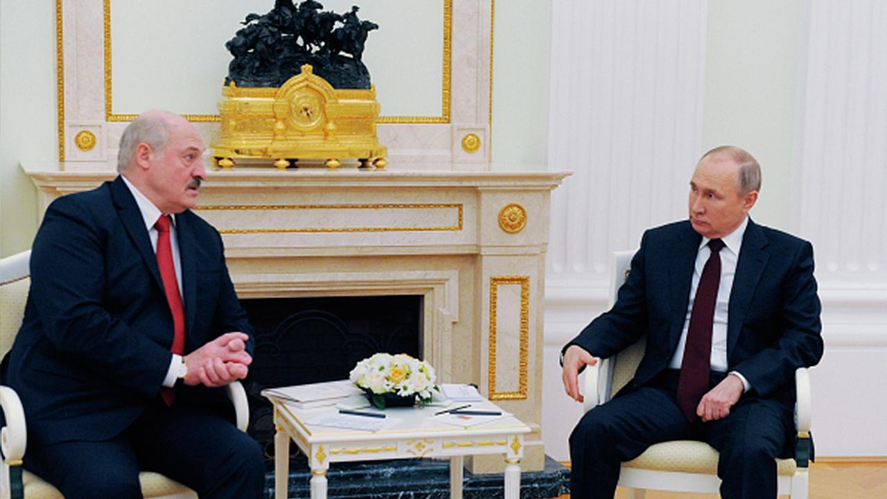 Путин и Лукашенко договорились о встрече в ближайшее время