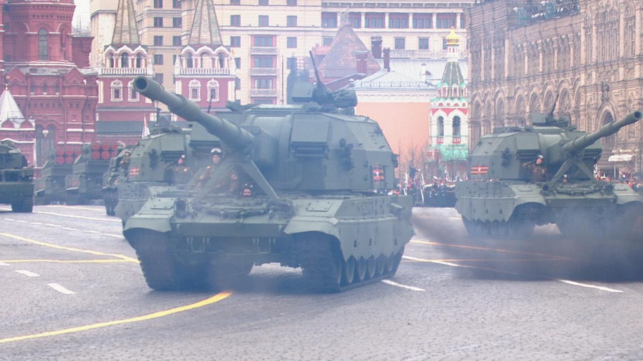 Самоходные орудия «Коалиция-СВ»<figcaption class=