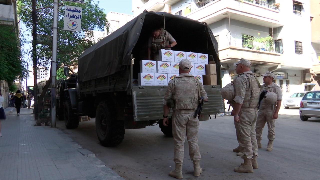 Ко Дню Победы в провинции Хама и Хомс в Сирии доставили гуманитарную помощь для выходцев из России