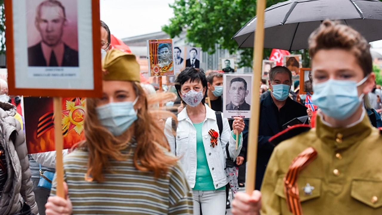 Онлайн-шествие «Бессмертного полка» объединило около пяти миллионов участников
