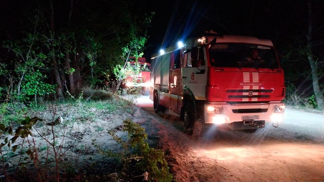 На реке под Самарой произошло возгорание сухогруза