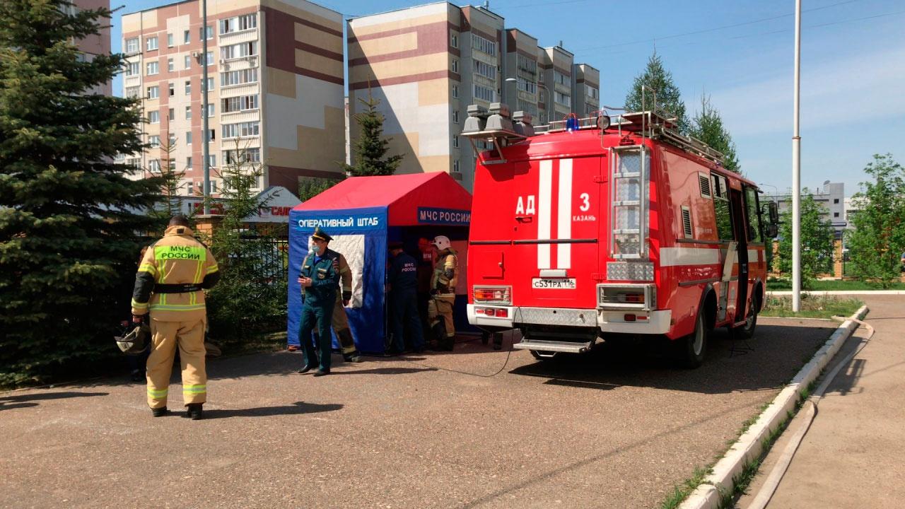 Кузнецова: в казанской школе было взорвано самодельное устройство