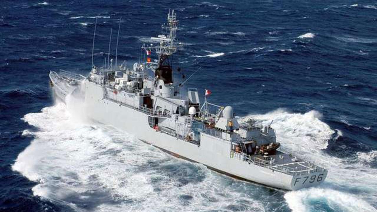 Черноморский флот приступил к слежению за зашедшим в акваторию Черного моря кораблем ВМС Франции