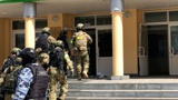 НАК опубликовал кадры работы спецназа в гимназии в Казани