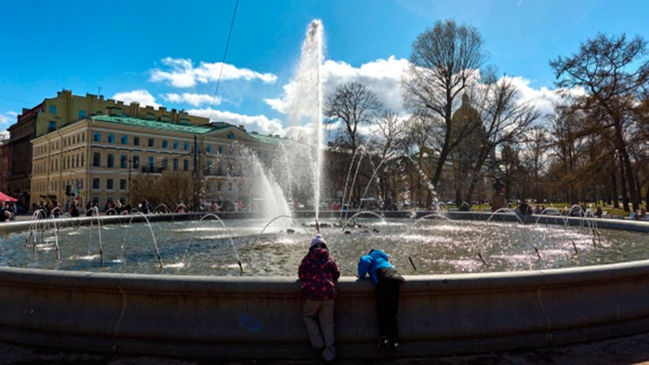 В Санкт-Петербурге побит температурный рекорд 58-летней давности