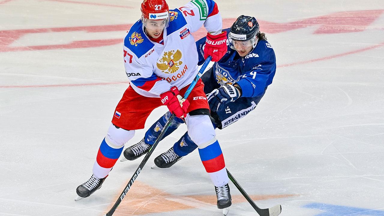 Сборная РФ по хоккею уступила Финляндии и прервала победную серию в Евротуре