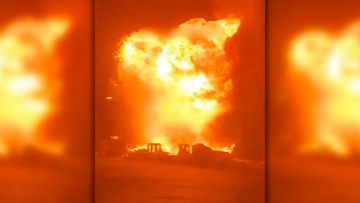 Непрерывные удары ракет из Газы превратили в «огненный столб» израильский Ашдод