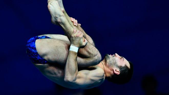 Спортсмен Бондарь завоевал золото по прыжкам в воду на чемпионате Европы