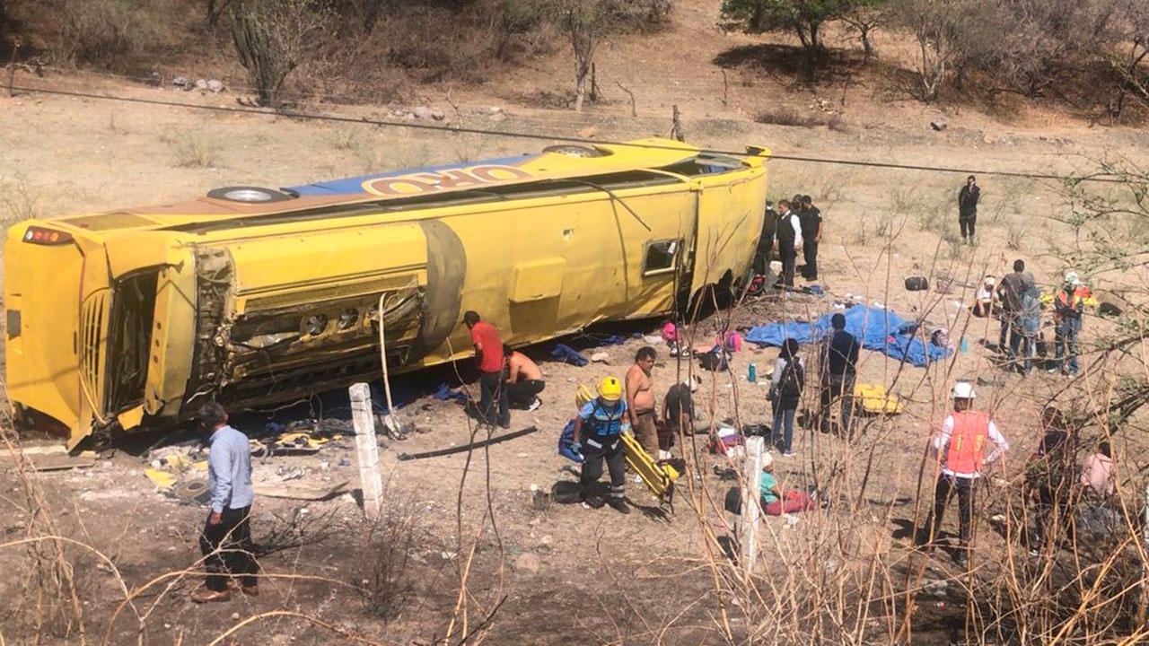 СМИ: жертвами автокатастрофы в Мексике стали около 16 человек