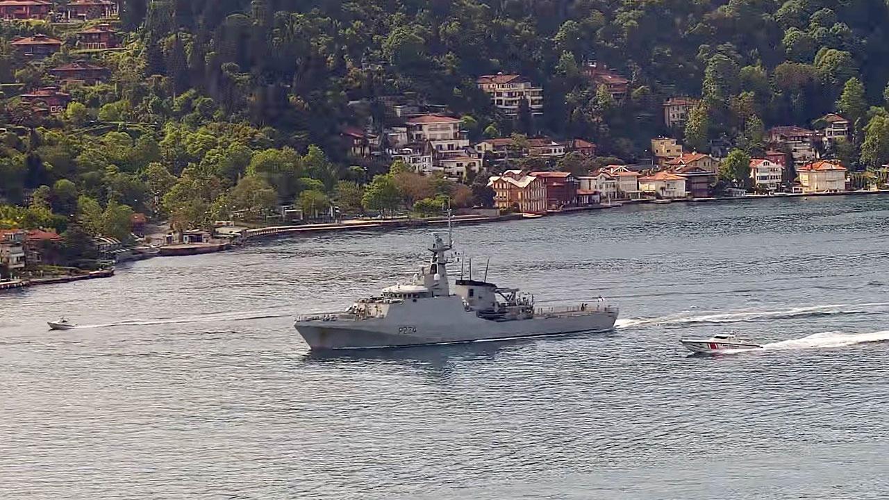 Черноморский флот приступил к слежению за зашедшим в акваторию Черного моря кораблем ВМС Великобритании