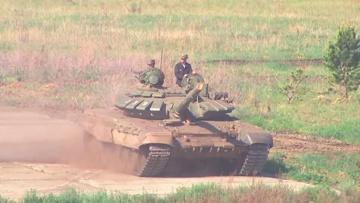 Через огонь, воду и минное поле: как проходит всеармейский этап конкурса АрМИ «Танковый биатлон» под Челябинском
