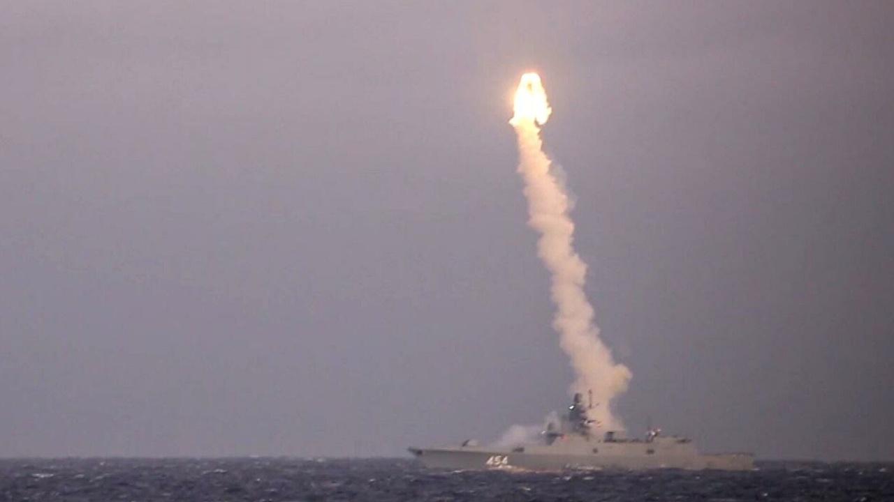 Россия завершает испытания гиперзвуковой ракеты «Циркон»