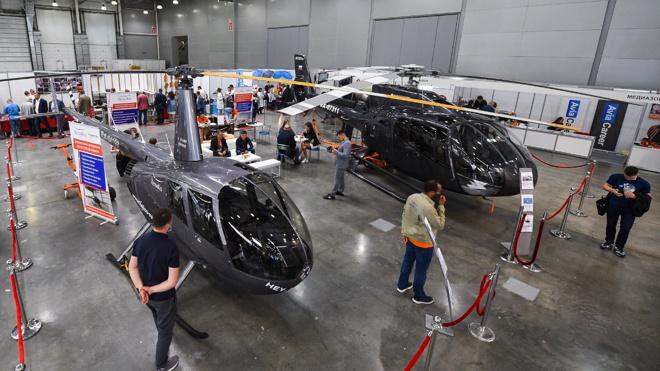 От винта: в Подмосковье прошла Международная выставка вертолетной индустрии HeliRussia