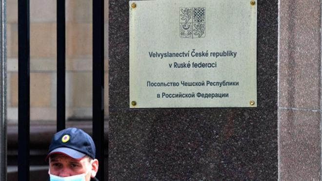 Чешское посольство в Москве уволило 71 российского работника
