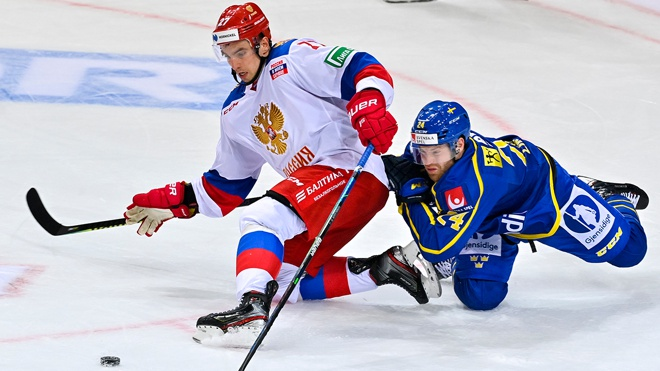 Россия - Швеция на ЧМ по хоккею-2021: прямая трансляция Первого канала
