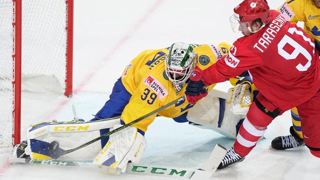 Досрочный выход в плей-офф: Россия победила Швецию на ЧМ по хоккею