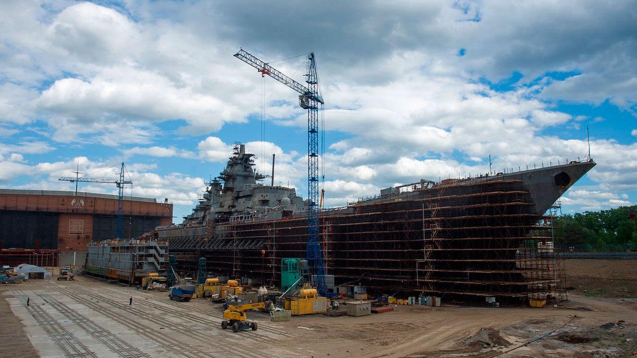 Станет самым мощным ракетным кораблем: командующий СФ рассказал о модернизации «Адмирала Нахимова»