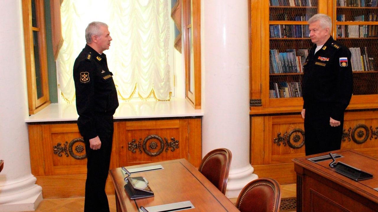 Евменов на Военном Совете ВМФ подвел итоги зимнего периода обучения