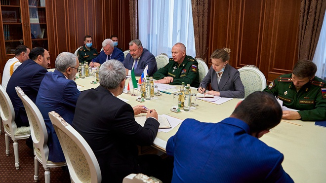 Фомин провел переговоры с заместителем министра обороны Ирана