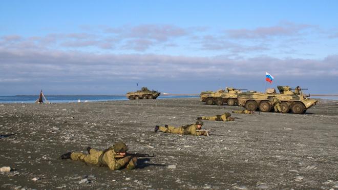 Северный флот России анонсировал проведение учений в Арктике
