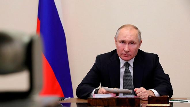 Путин провел переговоры с президентом Всемирного банка