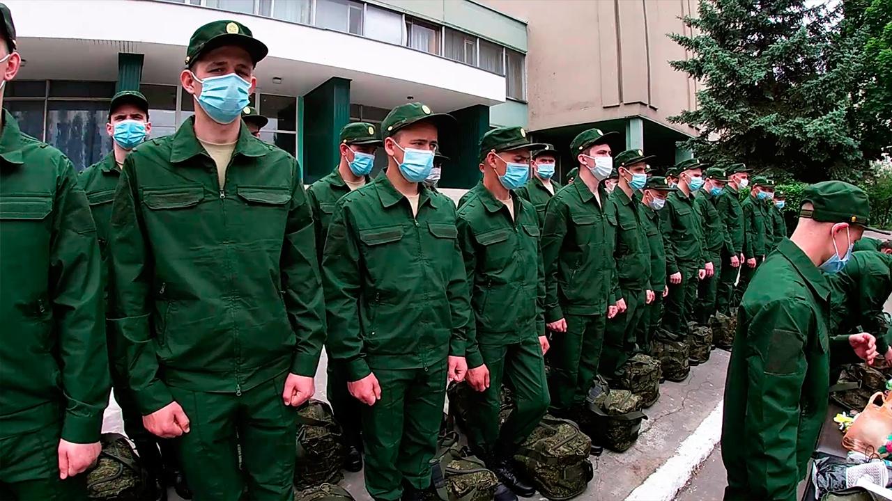 Призывники из Воронежской области отправились в Острогожский Учебный центр