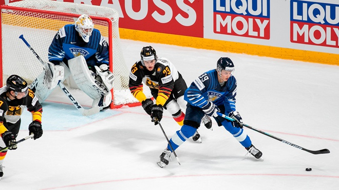 Финляндия обыграла Германию и вышла в финал ЧМ по хоккею-2021