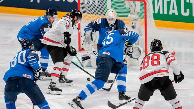 Сборная Канады обыграла команду Финляндии в финале ЧМ по хоккею