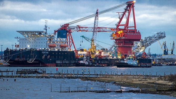 Новак назвал сроки ввода в эксплуатацию «Северного потока-2»