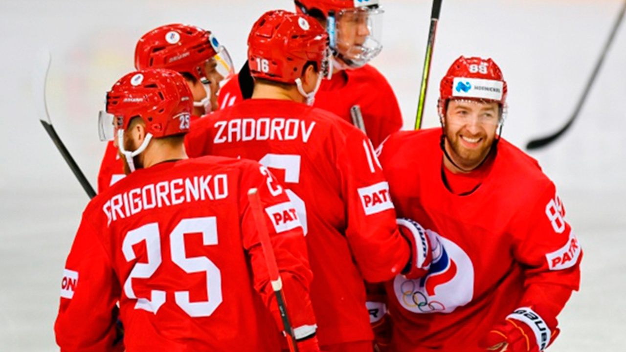Российская сборная опустилась на третье место в рейтинге Международной федерации хоккея