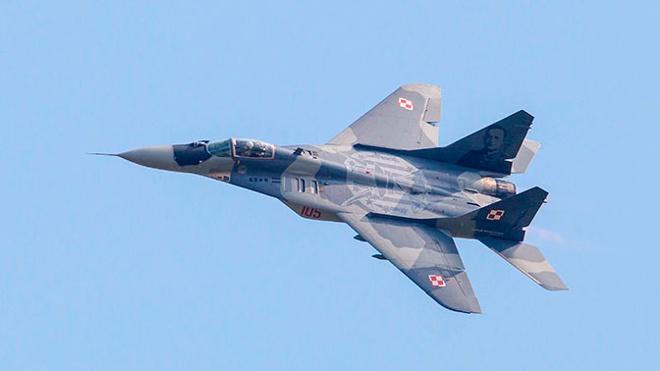 Польский МиГ-29 ошибочно обстрелял летевший с ним в паре истребитель