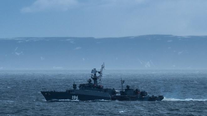 В Арктике развернуты три поисково-ударные группировки Северного флота