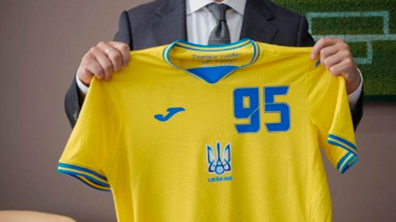 Путин высказался о новой украинской футбольной форме