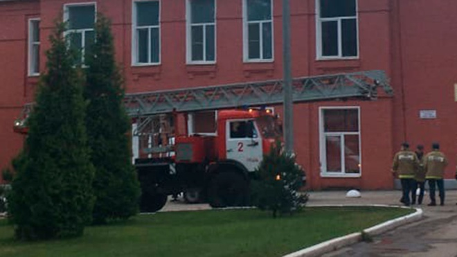 Группа центрального аппарата МЧС выехала в рязанскую больницу, где произошел пожар