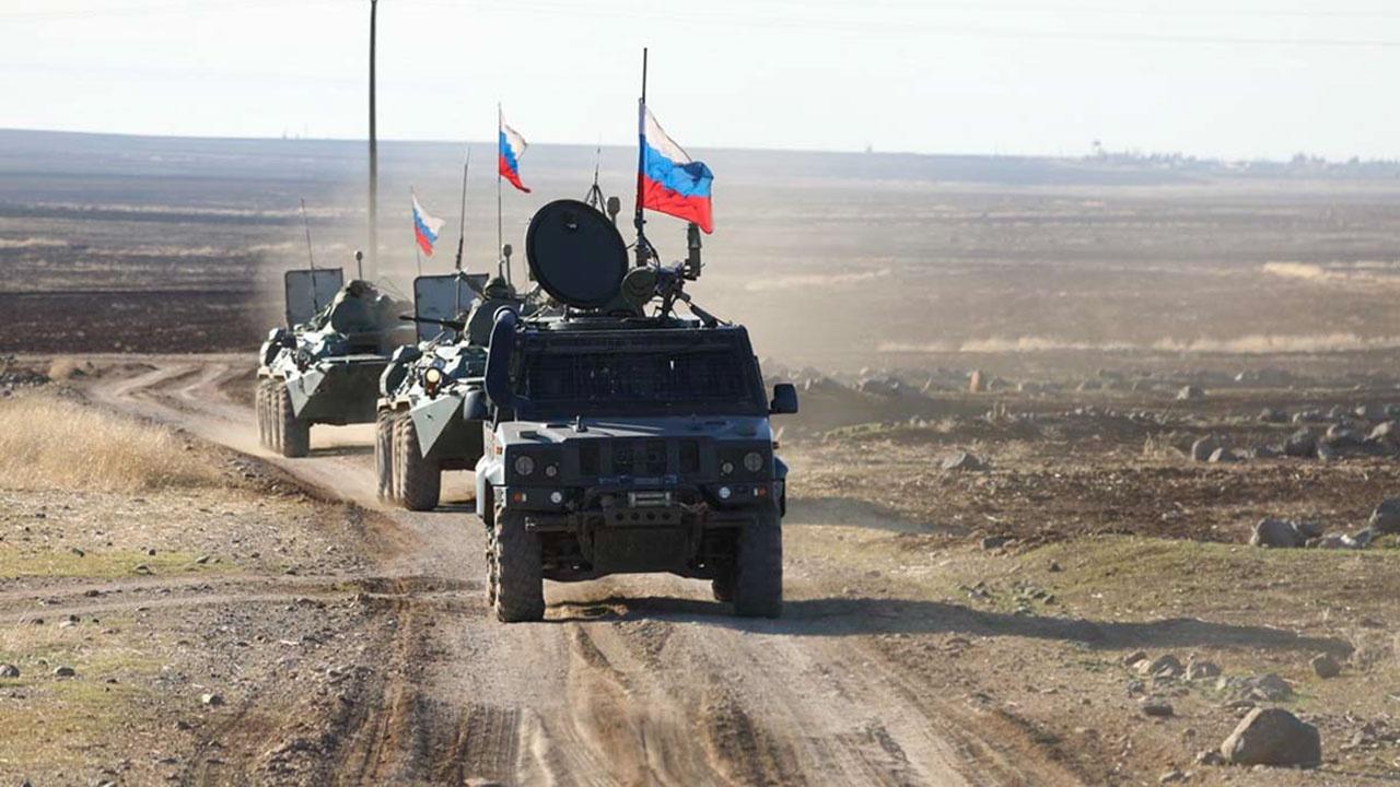 На маршруте патрулирования военной полиции в Сирии произошел подрыв бронеавтомобиля