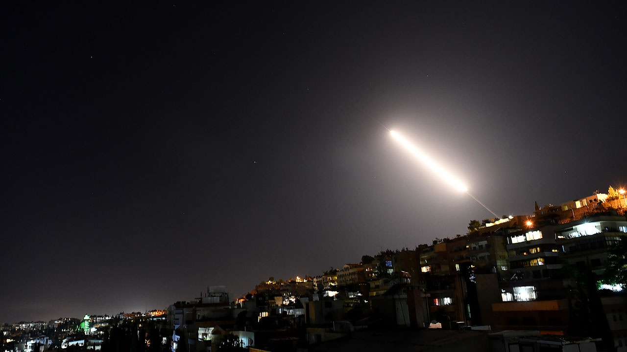 Сирийские СМИ сообщили о ракетной атаке Израиля