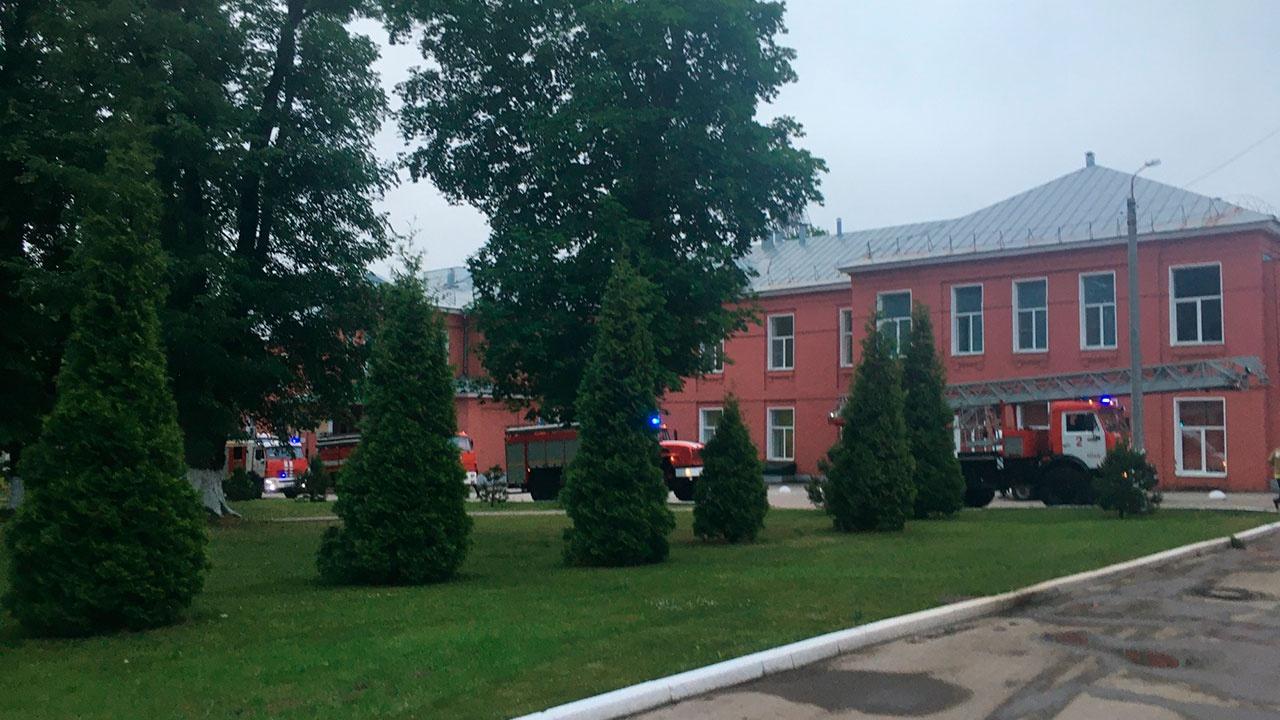 В МЧС рассказали подробности пожара в рязанской больнице