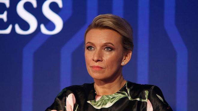 Захарова напомнила про слова Макрона о «смерти мозга НАТО»