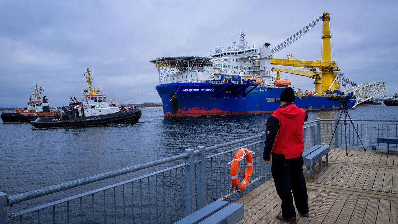 Завершено строительство морской части первой нитки «Северного потока -2»