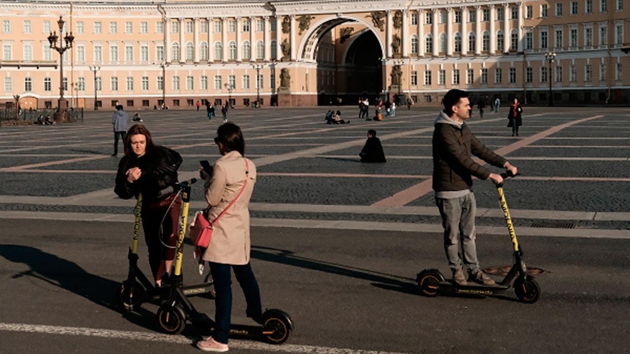 Электросамокаты вернутся на улицы Санкт-Петербурга
