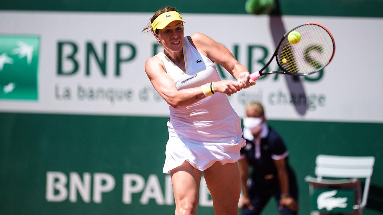 Павлюченкова победила Зиданшек и впервые в карьере пробилась в финал Roland Garros