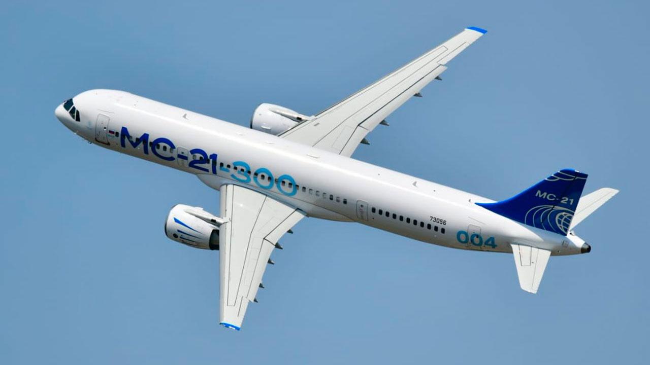 МС-21 будет участвовать в летной программе авиасалона МАКС-2021