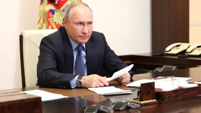 Путин подписал закон о служебной тайне в области обороны