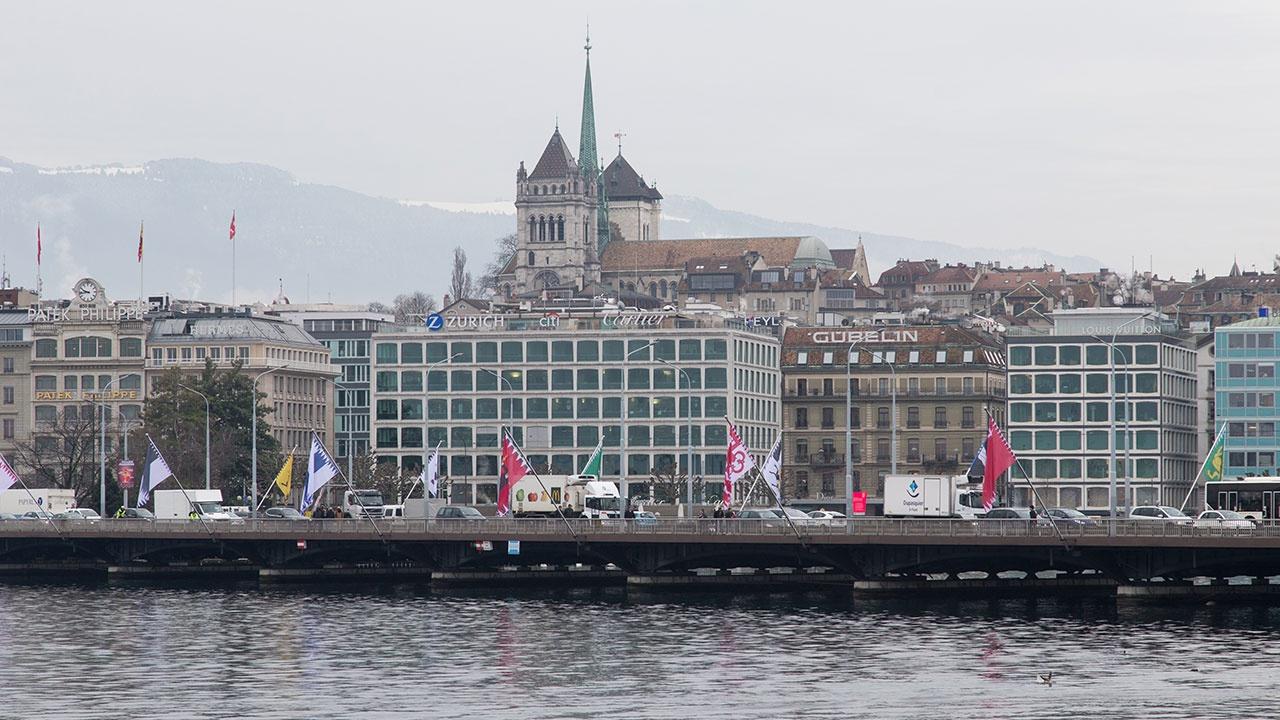 В Швейцарии закроют часть воздушного пространства на время саммита глав России и США