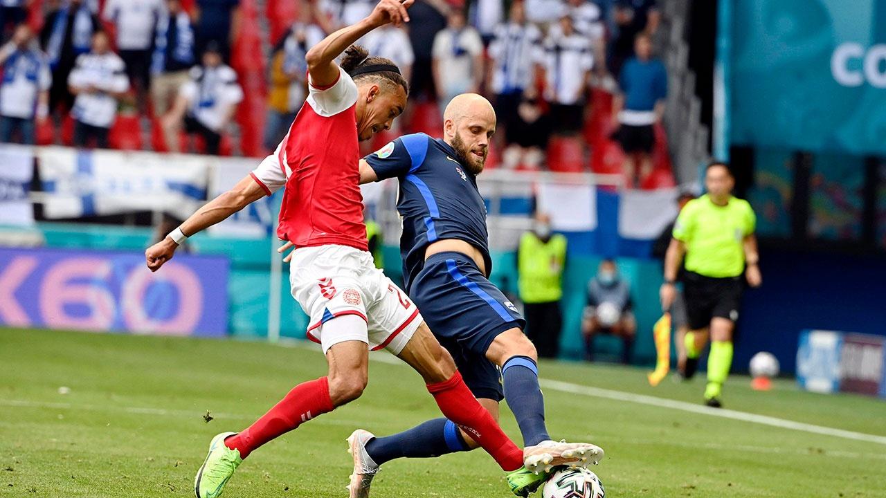 СМИ: матч Дания-Финляндия перенесен на 13 июня