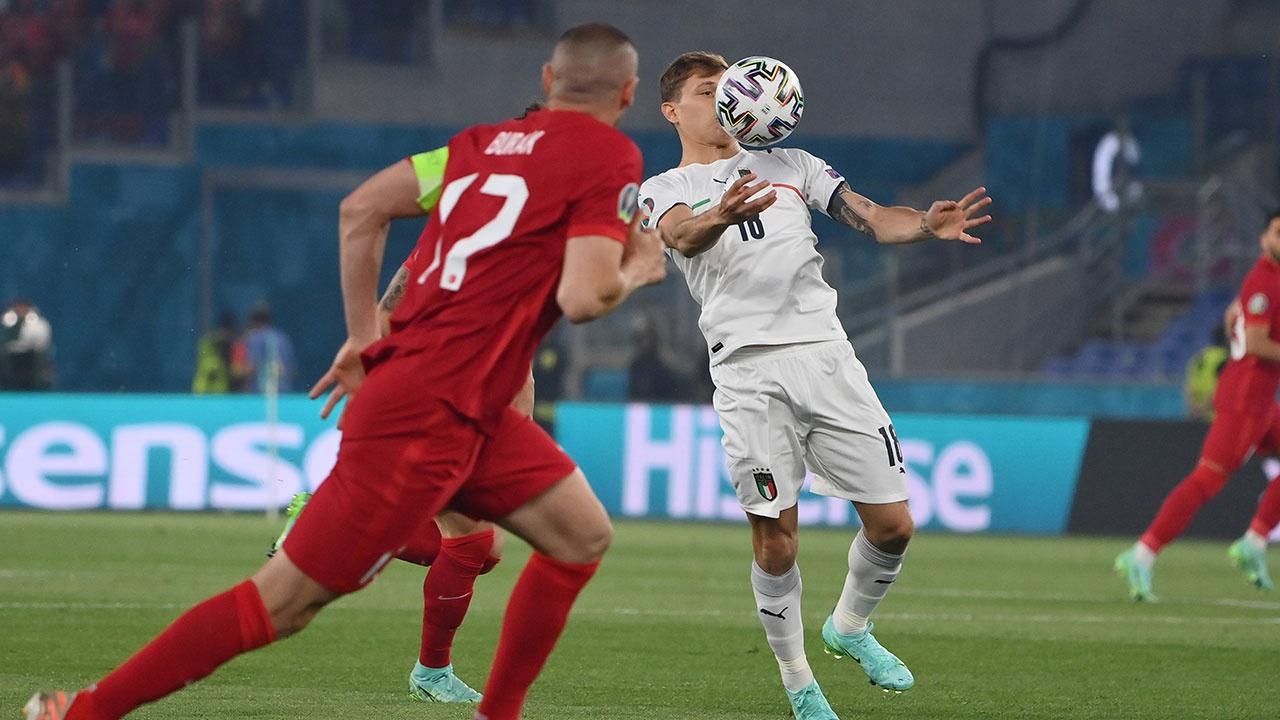 Сборная Италии по футболу разгромила команду Турции в матче открытия Евро-2020