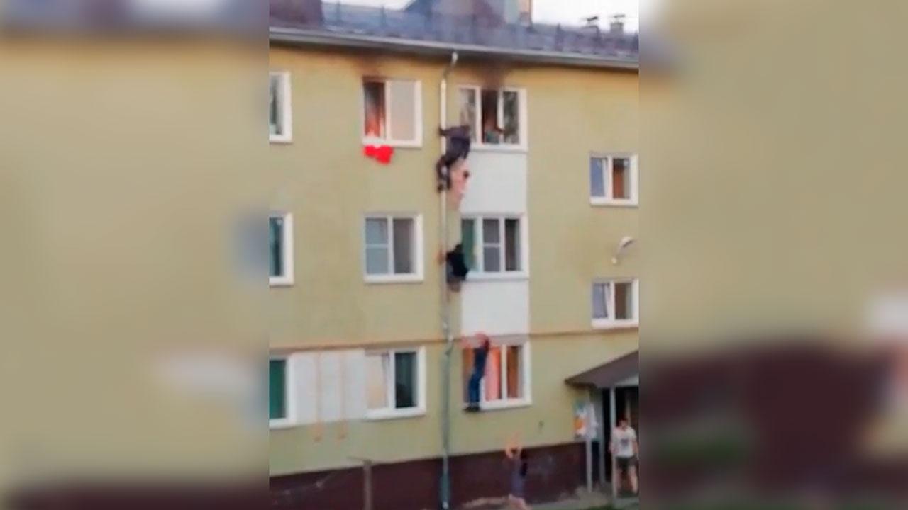 В МЧС наградят троих мужчин, спасших детей из пожара в Костроме