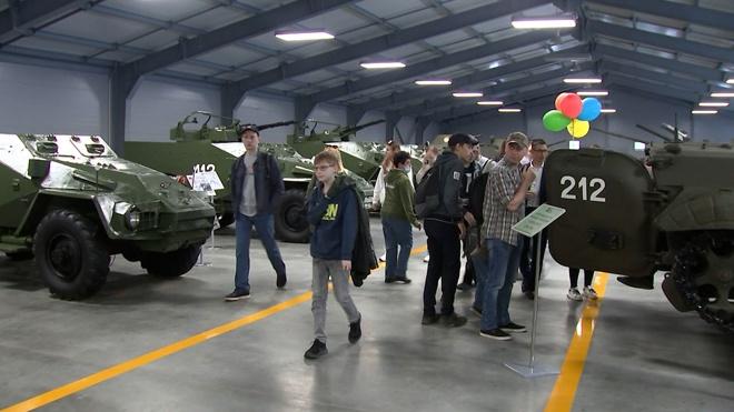 На территории парка «Патриот» открыли новую экспозицию Танкового музея